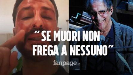 """La lettera di Celentano a Fabrizio Corona: """"Se dovessi morire non fregherebbe niente a nessuno"""""""