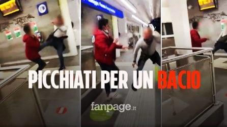 """Aggressione omofoba a Roma, picchiati per un bacio alla stazione """"Non vi vergognate?"""""""