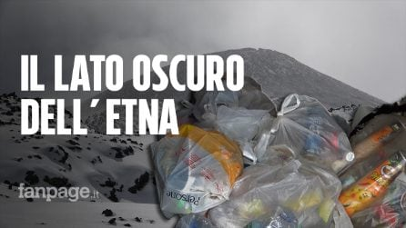 """Etna, cumuli di immondizia nei rifugi: """"Paradiso della natura, ma c'è uno schifo"""""""