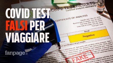 Test covid falsi per prendere l'aereo a Roma: denunciati 20 passeggeri