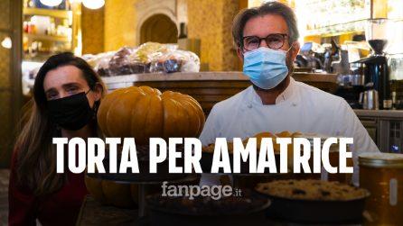 """Da Carlo Cracco una torta per Amatrice: """"Dobbiamo aiutare le persone a ritrovare la fiducia"""""""