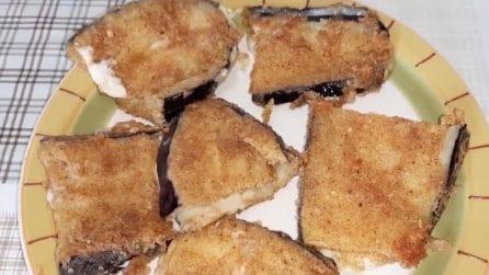 Panini di melanzane fritti: la ricetta del secondo piatto originale e saporito