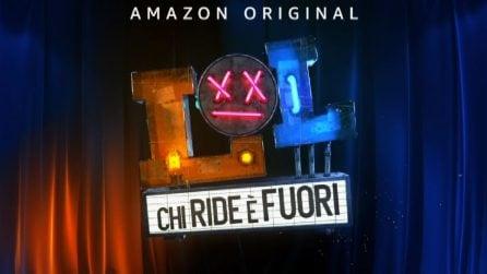 """""""LOL"""" da Elio a Lillo, la presentazione del nuovo show di Amazon Prime Video"""