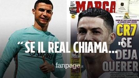 """""""Sì, arriva se il Real chiama"""" dalla Spagna riparte il tormentone Cristiano Ronaldo – Real Madrid"""