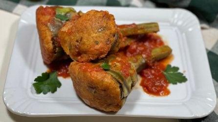 Carciofi ripieni: la ricetta di un piatto completo e saporito