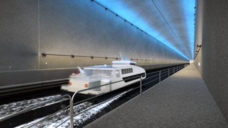 Norvegia, al via la costruzione del primo tunnel navale al mondo