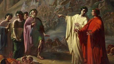 Dantedì al Palazzo Reale di Napoli: Il dipinto con l'Inferno di Tommaso De Vivo