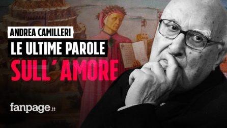 """Andrea Camilleri nell'audio inedito: """"In amore la ragione o si dimette o va in aspettativa"""""""