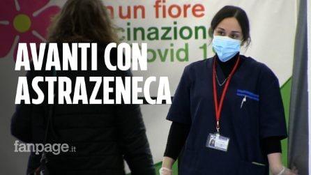 """Napoli, si continua con AstraZeneca, gli anziani: """"Anche il Covid ci preoccupa, meglio vaccinarsi"""""""