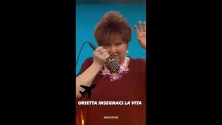 Orietta Berti canta i Maneskin a Name That Tune e fa impazzire il pubblico