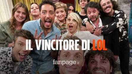 [Spoiler] Ecco chi ha vinto LOL – Chi ride è fuori, il primo comedy show di Amazon Prime Video