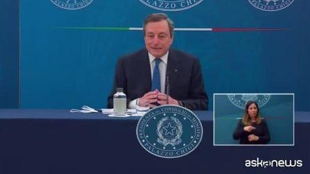 """Draghi: """"Con che coscienza la gente salta la lista?"""""""