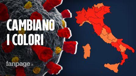 Colori regioni, la mappa dell'Italia per Pasqua: fino a quando dureranno le nuove zone