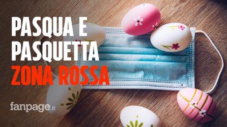Pasqua e Pasquetta in zona rossa, cosa si può fare e cosa è vietato: tutte le regole
