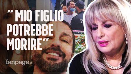 """Fabrizio Corona in carcere, il dolore della mamma: """"C'è la possibilità che mio figlio muoia"""""""