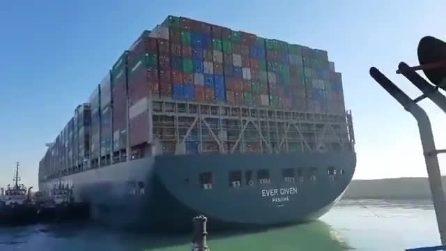 """Sbloccato il Canale di Suez: la Ever Given è stata """"liberata"""""""