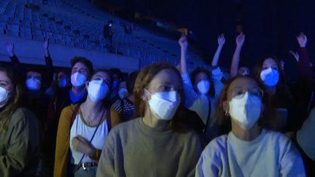 Esperimento anti Covid a Barcellona: in 5mila al concerto live