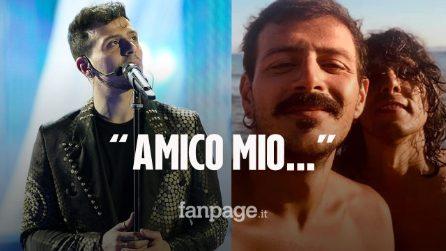 """Ermal Meta e la lettera a Leonardo Lamacchia: """"Amico mio, il tuo percorso è stato vero"""""""