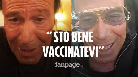 """Antonello Venditti si è vaccinato con AstraZeneca: """"Sto bene, non sono morto. Vaccinatevi"""""""