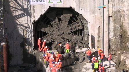 Metro Linea 1, realizzata la prima galleria tra Capodichino e Poggioreale