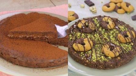 3 Torte senza cottura per gli amanti del cioccolato!