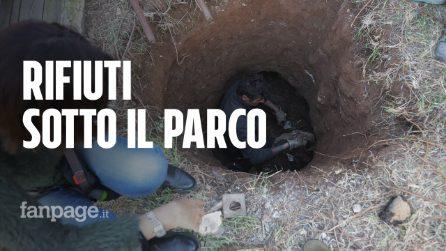 """Al posto del campo rom Casilino 900 ora c'è una bomba ecologica: """"Tonnellate di rifiuti interrati"""""""