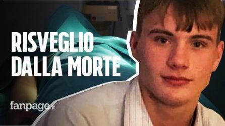 Il 18enne Lewis si risveglia poco prima dell'espianto degli organi: per i medici non aveva speranze