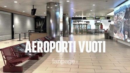 Bologna, aeroporto deserto il giovedì prima di Pasqua: poche partenze e soprattutto per lavoro