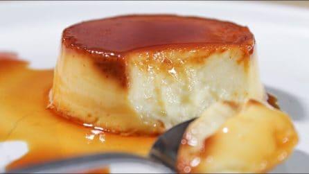 Crème caramel senza uova: la ricetta del dessert che si scioglie in bocca