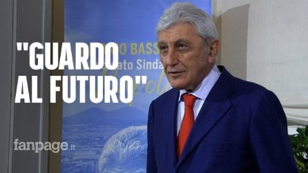 """Bassolino apre la campagna elettorale: """"Recovery plan un'occasione. Il centrosinistra mi sostenga"""""""
