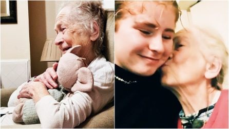 A 20 anni va a vivere con la nonna malata di Alzheimer: l'amore che sfida la malattia