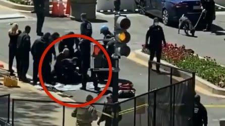 Usa, attacco a Capitol Hill: i soccorsi agli agenti investiti