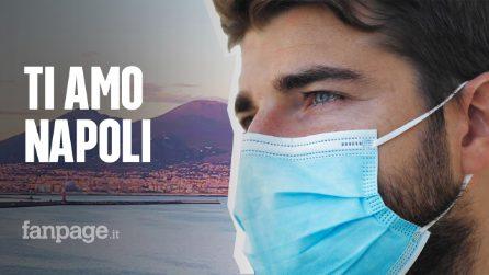 """La lettera d'amore a Napoli di Alberto, medico di Brescia: """"Non vorrei andare via da qui"""""""