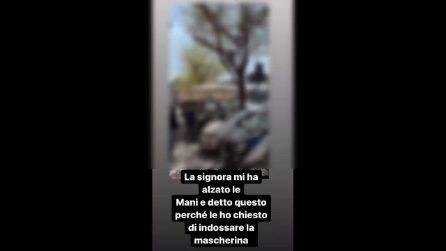 Il video della rissa tra Giulia Elettra Gorietti e una tabaccaia