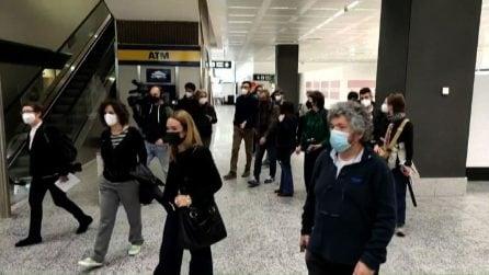 Primo volo Covid-Tested da New York atterrato a Milano-Malpensa