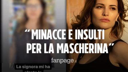 """Rissa tra l'attrice Giulia Elettra Gorietti e una tabaccaia di Roma: """"Zo**ola. Ti prendo a pizze"""""""