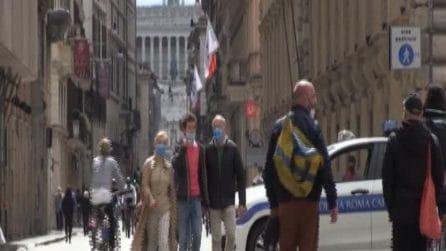 Roma, Pasquetta in zona rossa: in strada molti podisti e ciclisti