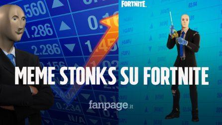 Meme Stonks è ora una skin di Fortnite: tutta la storia del famosissimo meme azionario