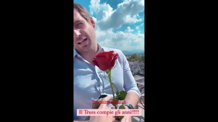 """Tomaso Trussardi festeggia il compleanno, Michelle Hunziker: """"Auguri maritino figo"""""""