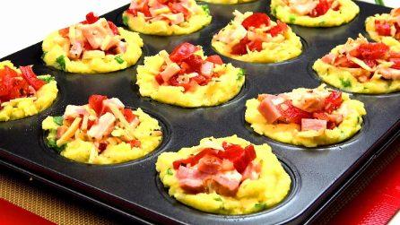 Tortine di patate ripiene: la ricetta veloce, gustosa e originale