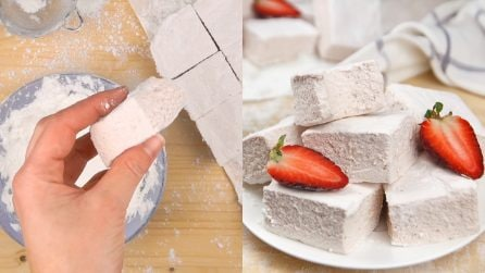 Strawberry marshmallows: the homemade recipe for the joy of your kids!