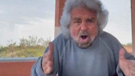 Il video di Grillo per il figlio accusato di stupro: arrestate me