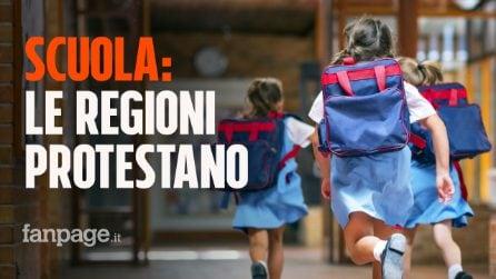 Scuola, Regioni protestano su riapertura: ipotesi test salivari e deroghe su Dad