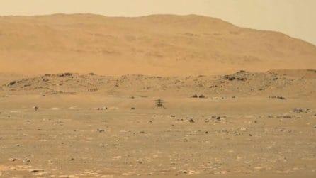 Il video in tempo reale dello storico volo di Ingenuity su Marte