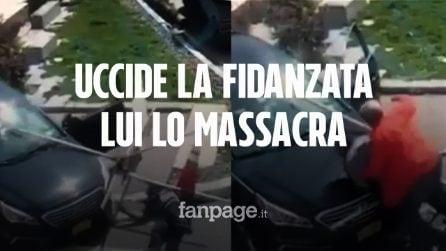 New York, spara e uccide la sua fidanzata in strada: l'uomo lo investe e lo massacra di botte