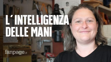 """Francesca, l'unica artigiana a produrre fisarmoniche interamente a mano: """"L'Italia riparta da noi"""""""