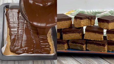 Biscotti al burro d'arachidi e cioccolato: buonissimi e pronti senza cottura!