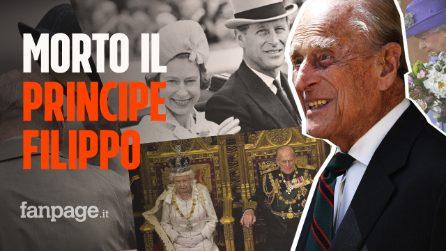 Morto il Principe Filippo, marito della Regina Elisabetta d'Inghilterra: lutto nel Regno Unito
