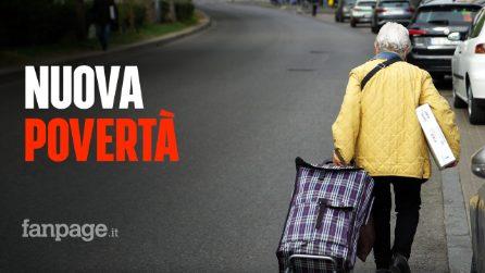 """""""Non ho più niente, vengo per un pezzo di pane"""": i nuovi poveri in coda per il cibo a Milano"""