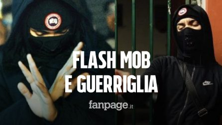 Milano, 300 ragazzi in strada per il videoclip di Neima Ezza: guerriglia con le forze dell'ordine